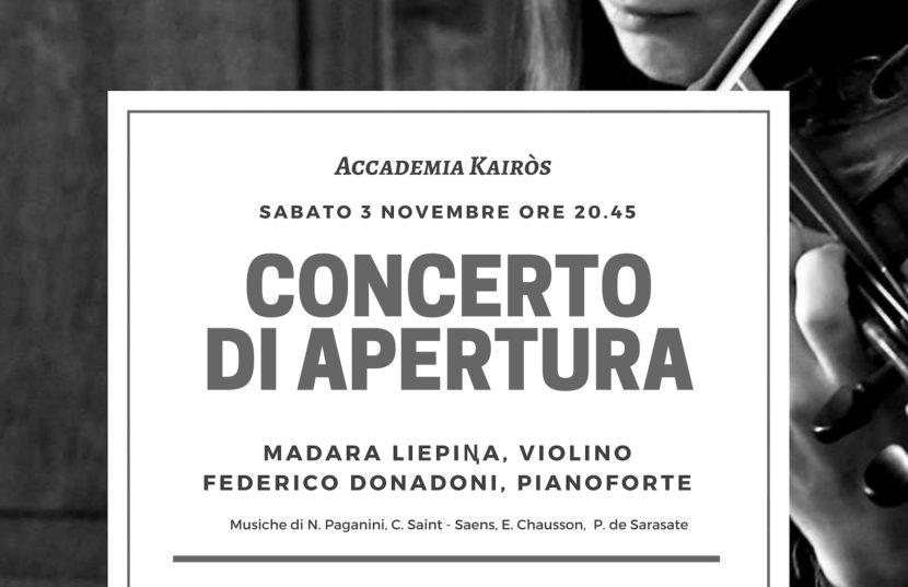 Concerto Apertura 2018_2019