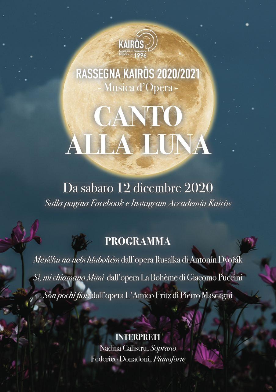 Locandina Canto alla Luna